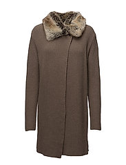 Barbour Fortrose Knit - TAUPE