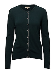 Barbour Lodge Cardigan - EMERALD