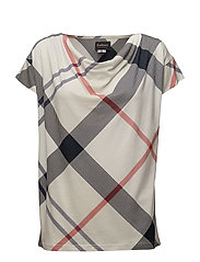 Barbour Leathen Top - SUMMTARTAN
