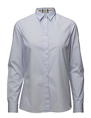 Barbour Prudhoe Shirt - BLUE WHITE