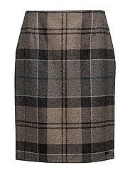 Nebit Pencil Skirt - FREEN TARTAN
