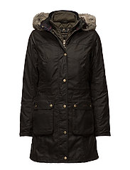 Barbour Helsby Wax Jacket - OLIVE