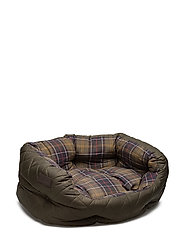 "Barbour Quilted Dog Bed 24"""" - OLIVE"
