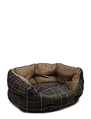 Barbour 24in Luxury Dog Bed - CLASSIC TARTAN