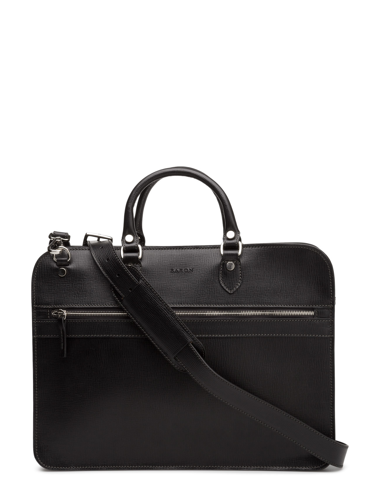 baron – Small zip briefcase fra boozt.com dk
