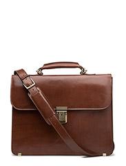 Briefcase Small - COGNAC