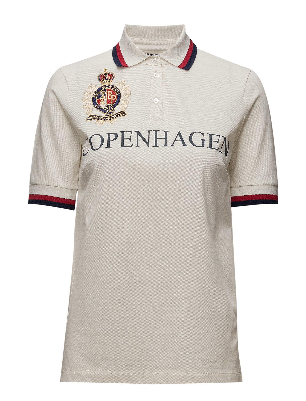 Jacqueline Baum und Pferdgarten Polo t-shirts til Damer i Egret
