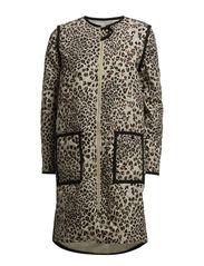 DELFINA - Beige Leopard