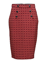 JAKITA - RED JACQUARD