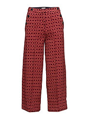 JACOBA - RED JACQUARD