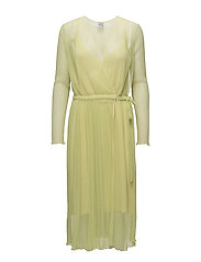 ACCASSIA DRESS - GREEN SULPHUR