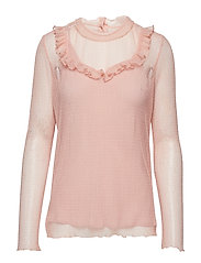 MEG BLOUSE - ADOBE ROSE