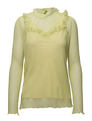 MEG BLOUSE - GREEN SULPHUR