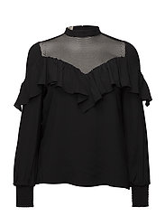 MARINKA BLOUSE - BLACK