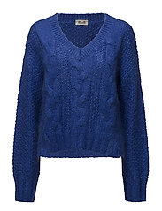 CORALIE SWEATER - OLYMPIAN BLUE