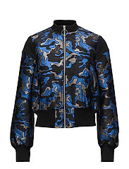 BLOSSOM JACKET - BLUE ARMY