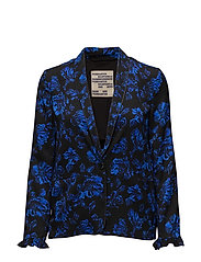BEATRICE JACKET - BLUE ROSES