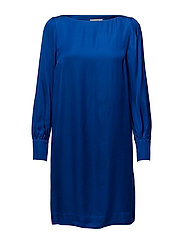 ABRIANA DRESS - OLYMPIAN BLUE