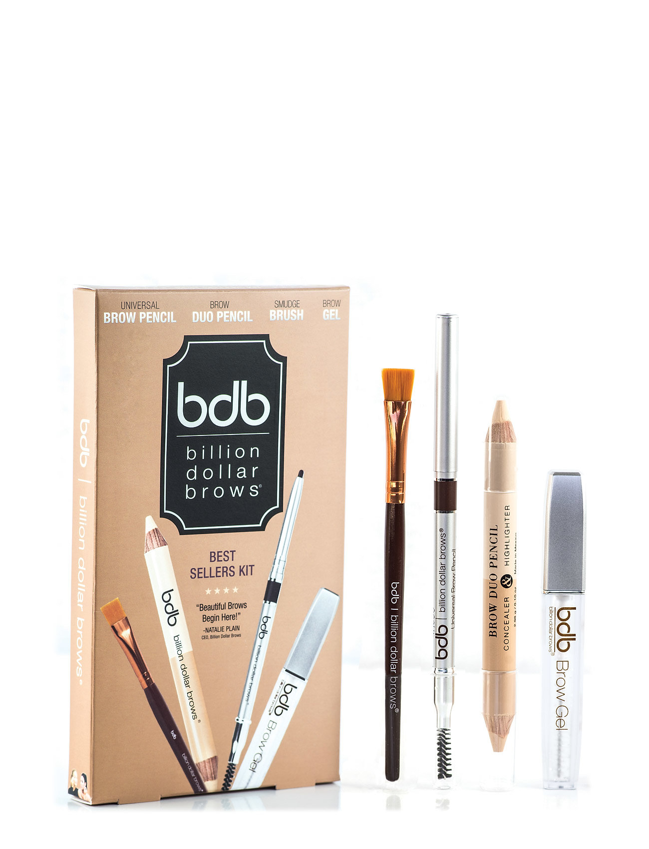 Best sellers kit fra bdb billion dollar brows på boozt.com dk