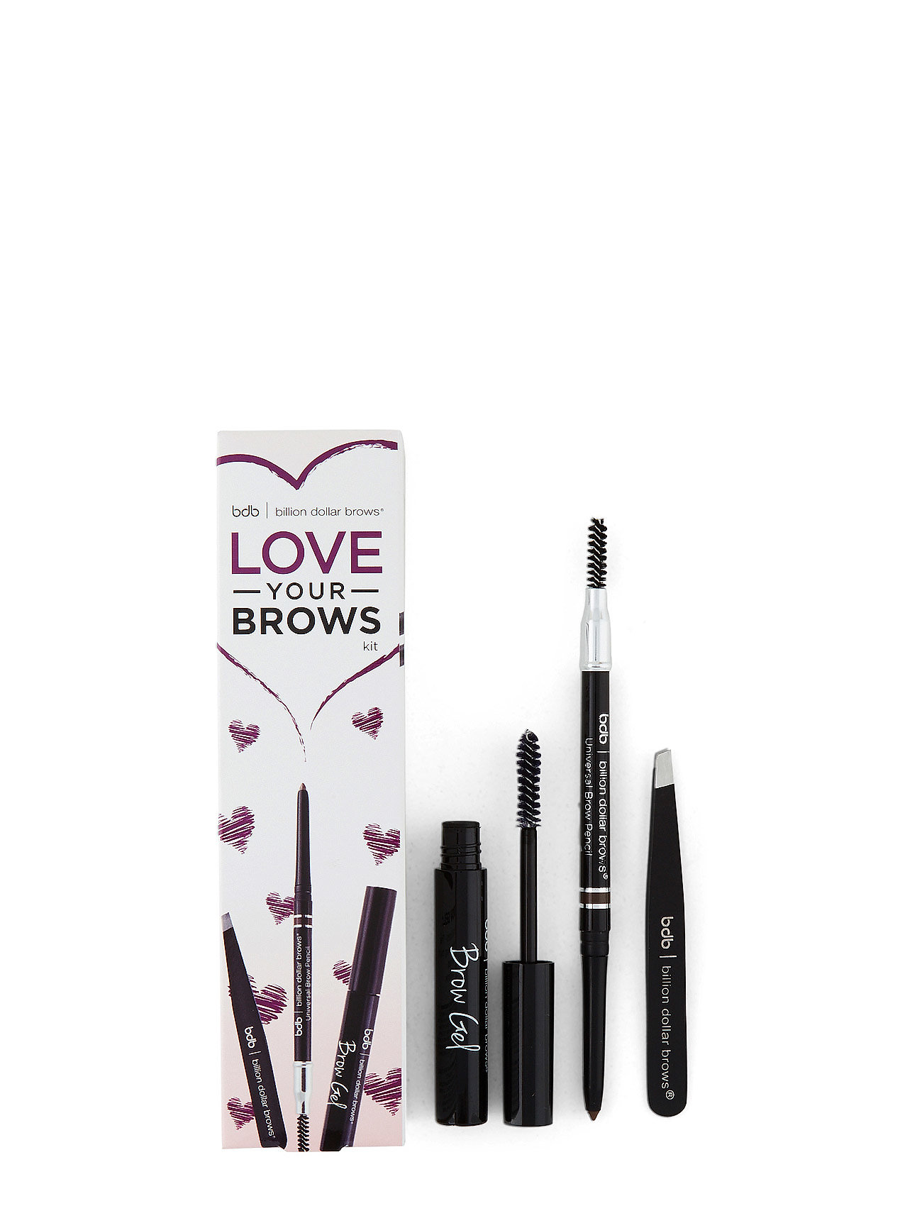 bdb billion dollar brows Love your brows kit fra boozt.com dk