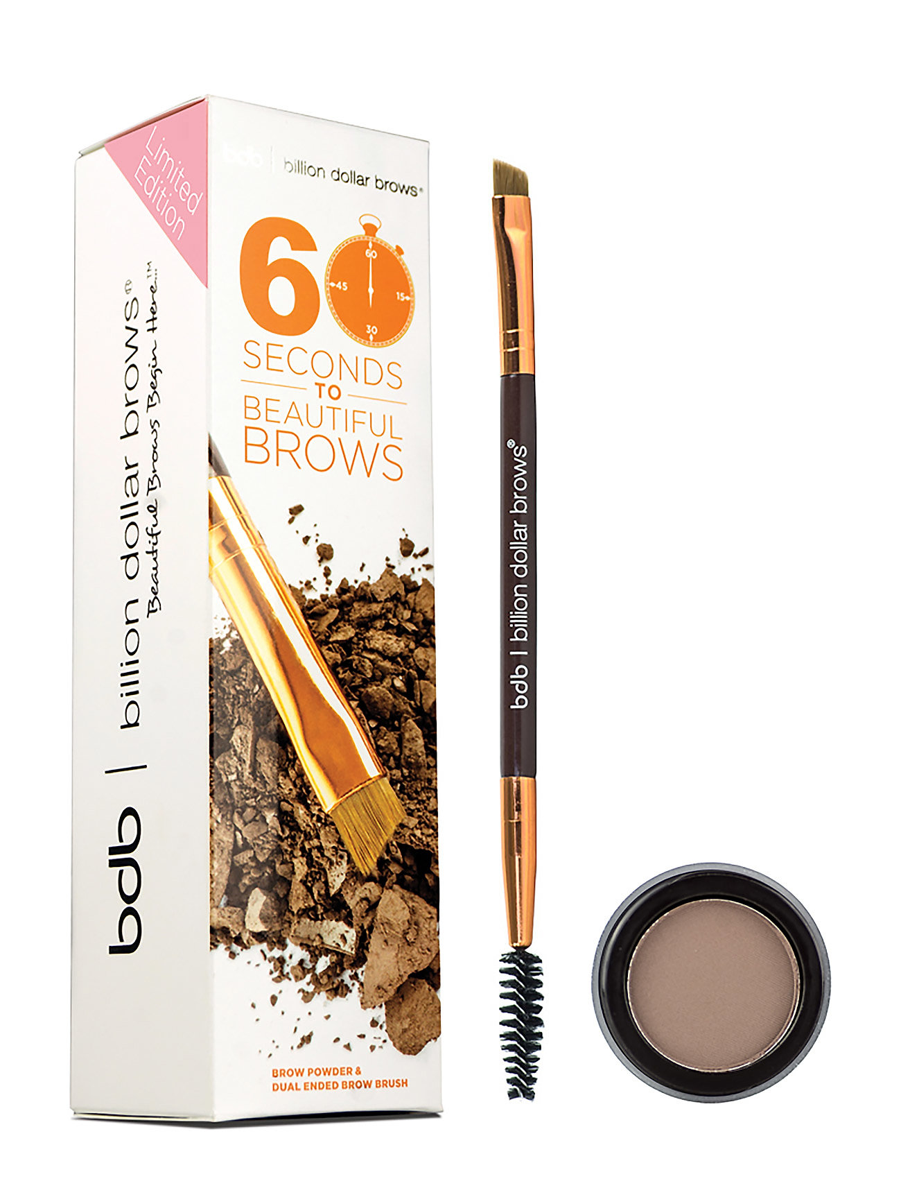 bdb billion dollar brows 60 seconds kit på boozt.com dk