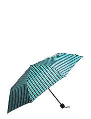 Striped Umbrella - PEPPER GREEN