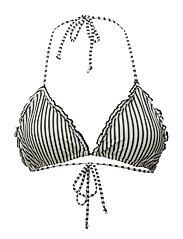Bikini Striped Top - BLUE NIGHTS