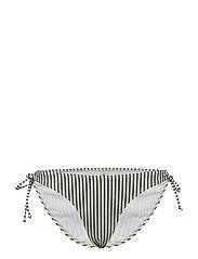 Bikini Striped Bottom - BLUE NIGHTS