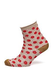 Dory Unruly Dot - HOT CORAL