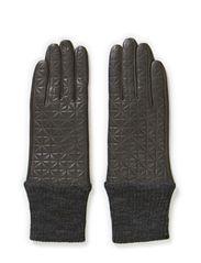 L-Quilt Me Glove - Grey