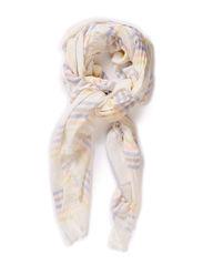 O-Cotton Stripes - Off White