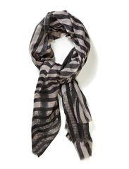 L-Twirled Stripes - Light Grey