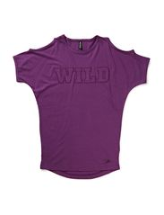 AIDE SS TUNIC - WINEBERRY