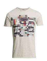 Graphic Tees - Light Sand Marl
