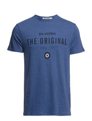 Graphic Tees - Dark Stone Blue Marl