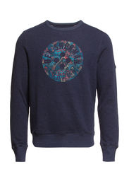 Sweat Tops - Granite Blue Marl