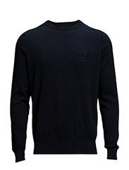 Knitwear - Navy Blazer
