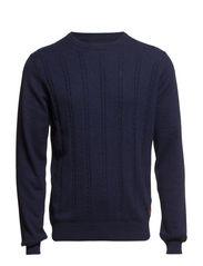 Knitwear - Crown Blue Marl