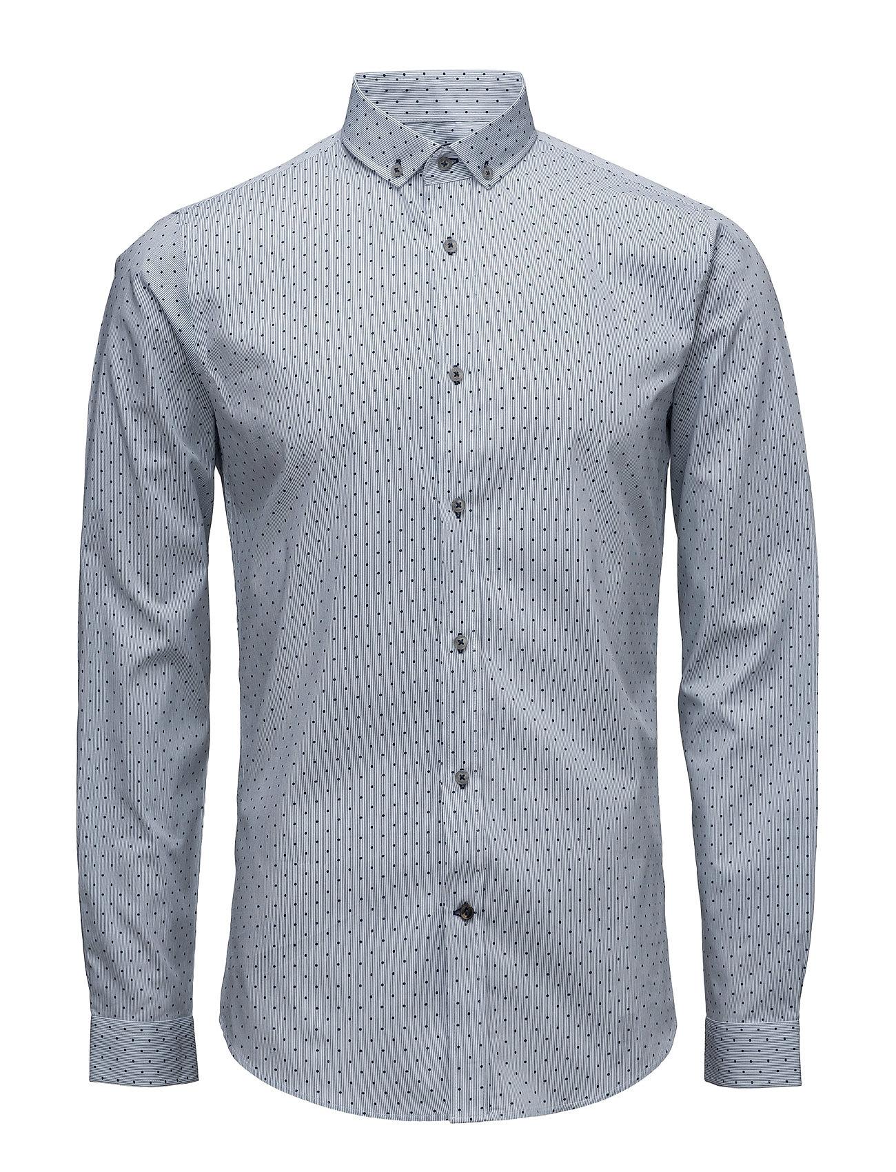Malte Shirt L/S Bertoni Casual sko til Mænd i Little Boy Blå