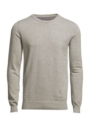 Bertoni Basic Knit - Light grey