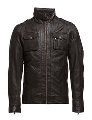 Leather Jacket - 890 Coffee Bean