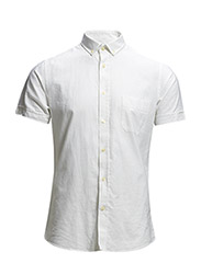 Shirt Oxford short sleeves - 103 White