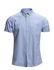 Shirt Oxford short sleeves - 710 Sky
