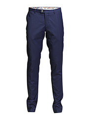 Pants - Plain weave - 730 Indigo Blue