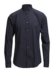 Shirt b-d to stand dot print - 780 Atlantis
