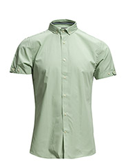 Shirt S/S - classic - 620 Frosty green