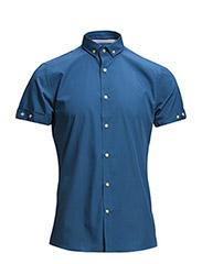Shirt S/S - classic - 717 Deep Water