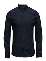 classic shirt L/S - 740 Dress Blue