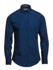classic shirt L/S - Dark denim