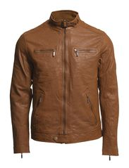 Bertoni Bertoni leather jacket